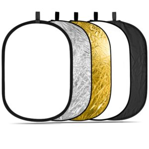Collapsible Round Multi Disc Light Reflector